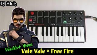 DJ Alok Vale Vale x Free Fire Theme Song By SB GALAXY   Akai MPK Mk2
