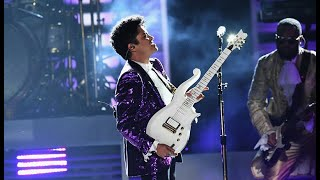 Bruno Mars, Morris Day and The Time - Tribute a Prince ||Performance in the Grammys Awards 2017||