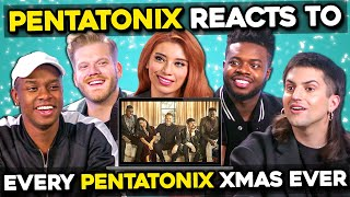 Pentatonix Reacts To Pentatonix Christmas Songs Through The Years