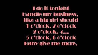 Ciara - Ride it lyrics