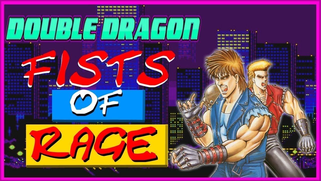 Double Dragon Fists Of Rage Gameplay Youtube