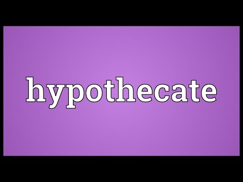 Header of hypothecate