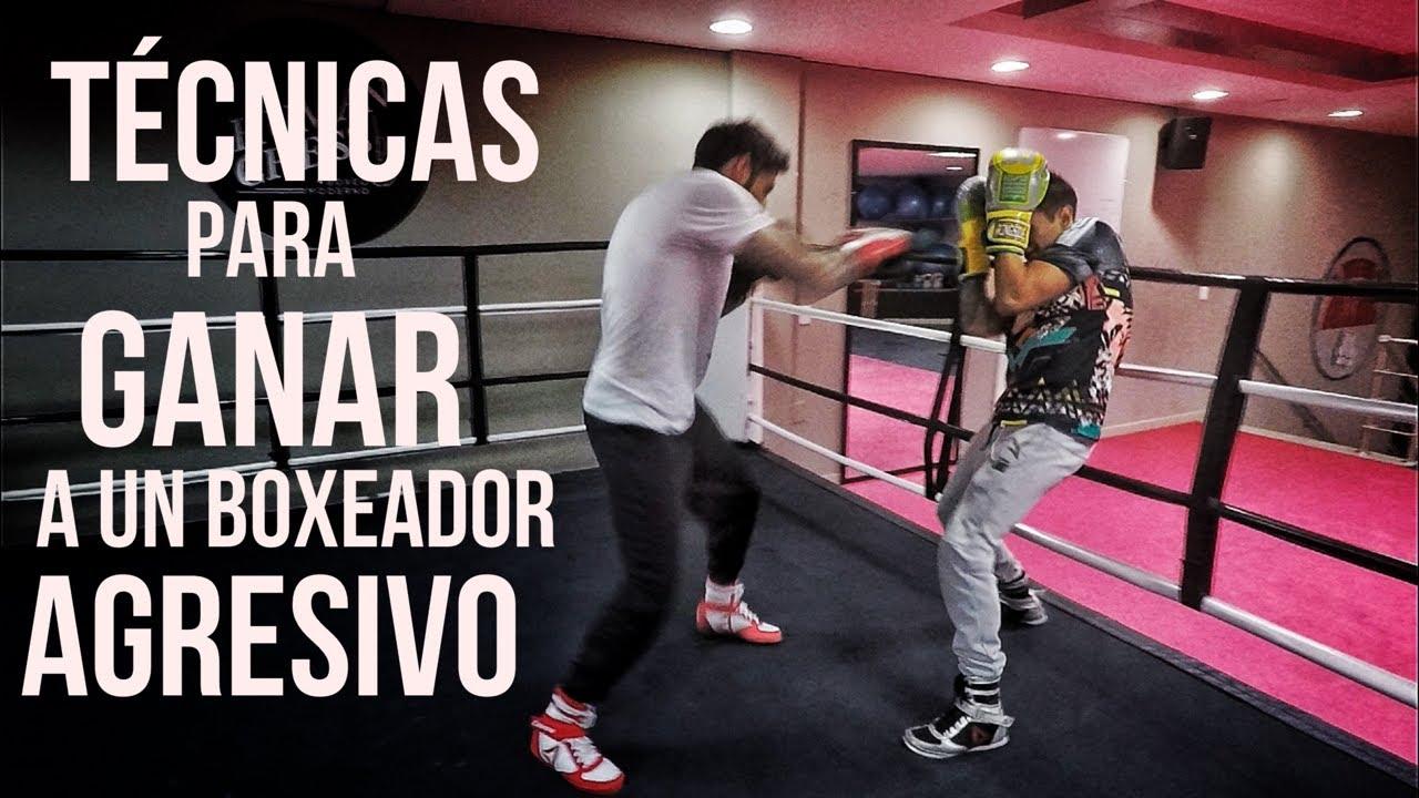Técnicas Para Ganar A Un Boxeador Agresivo Youtube