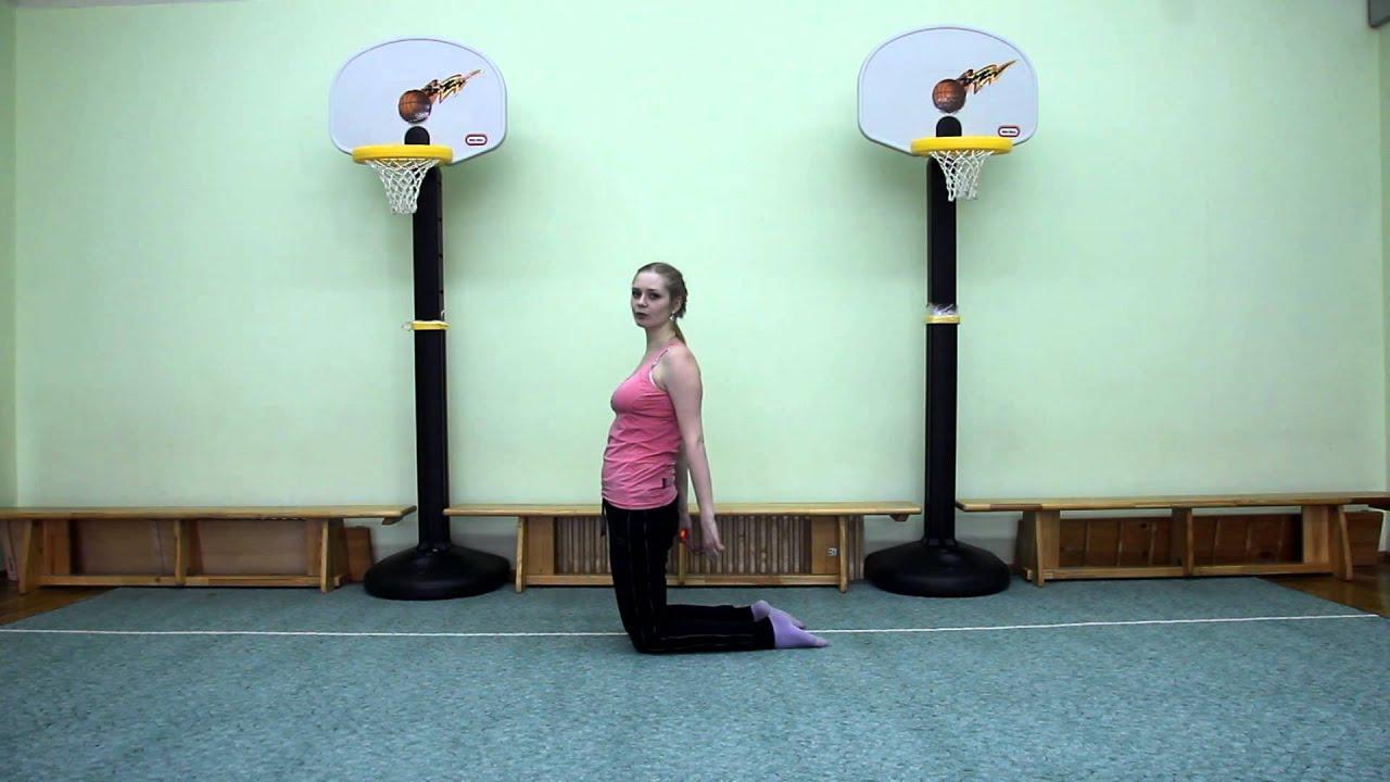 Общеразвивающие упражнения со скакалкой - YouTube