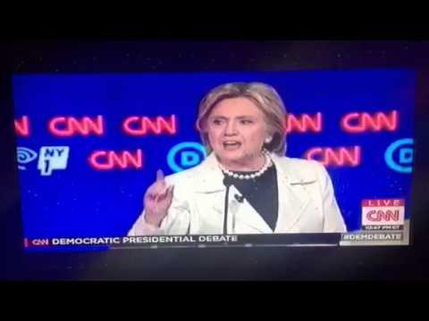 Hillary Clinton Says Women's Right To Choose Ignored #DemDebate