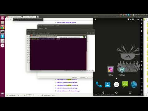 Hacking android app with FRIDA in (Genymotion & Ubuntu)