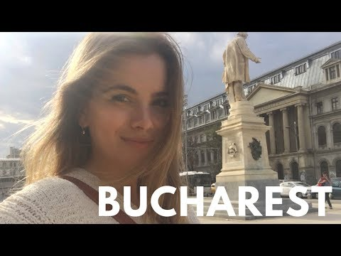 EPIC TOUR OF BUCHAREST, ROMANIA: City Vlog + Drone Footage