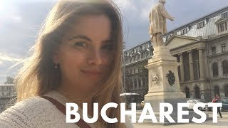 EPIC TOUR OF BUCHAREST, ROMANIA City Vlog Drone Footage
