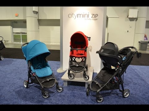 New Baby Jogger City Mini Zip Stroller Abc Kids Expo 2014 Preview