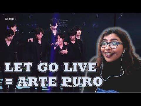 LET GO EN VIVO | BTS | REACCIÓN