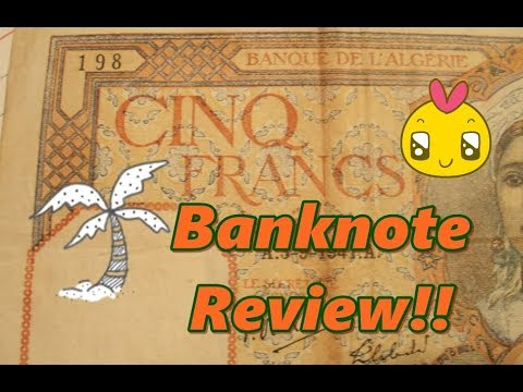 Algeria (French Occupied) Banknote Review