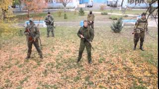 Обучение батальона Восток. ДНР ЛНР