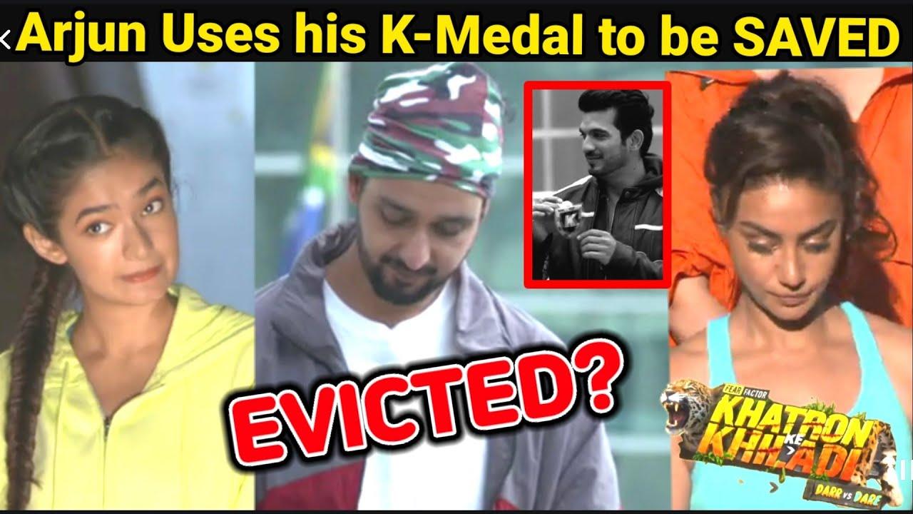Download Khatron Ke Khiladi 11: Shocking EVICTION| Anushka/Mahek/Sourabhraaj Jain EVICTED?Arjun USES K-Medal
