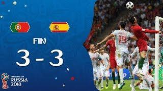 PORTUGAL VS ESPAGNE!