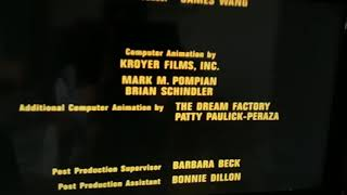 End credits Tom and Jerry the movie italian