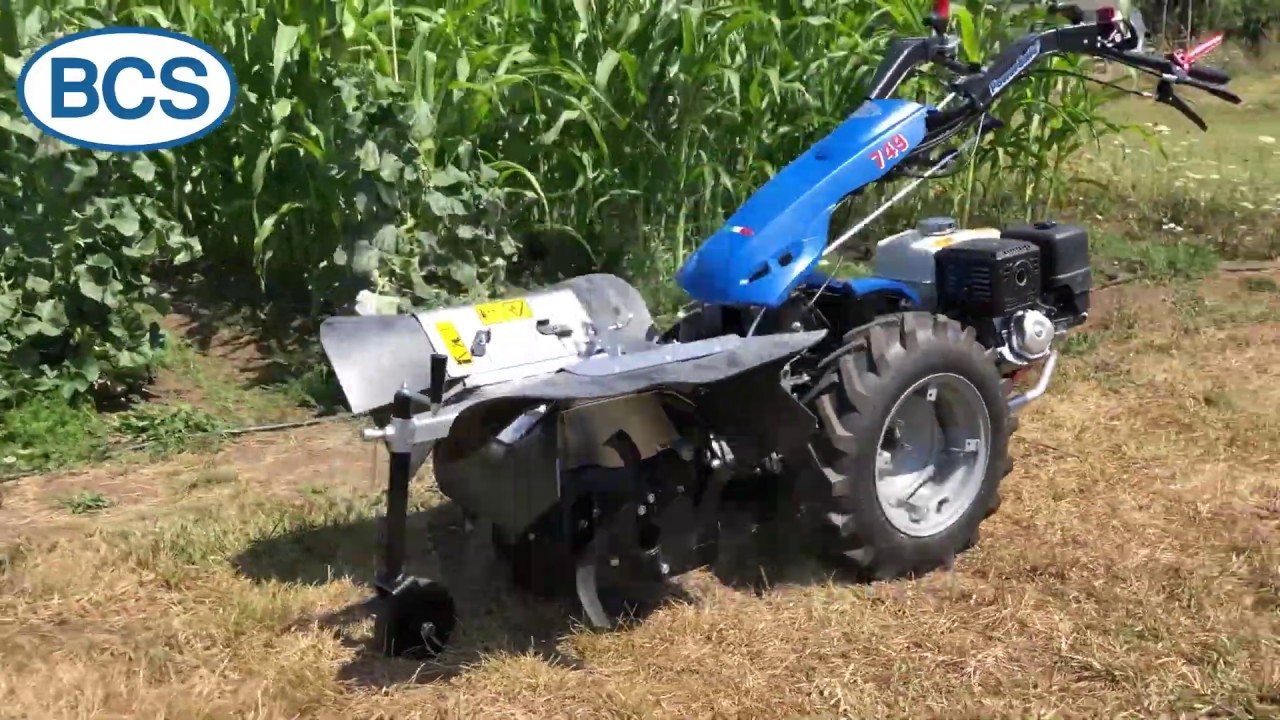 BCS Power Ridger Attachment - Perfect for Hilling Row Crops