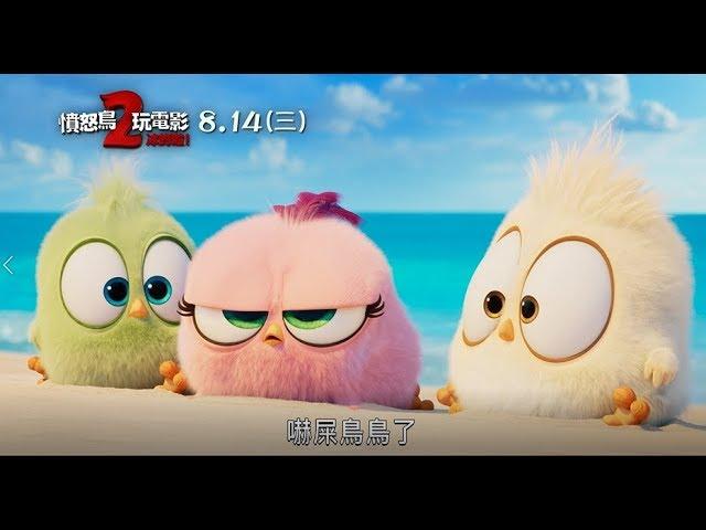 【憤怒鳥玩電影2:冰的啦!】鳥寶寶超萌救蛋計畫