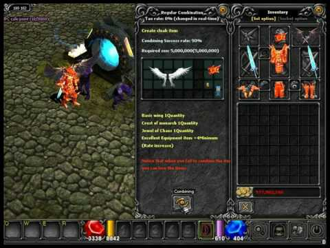Crear Una Cape Of Lord Mu Online