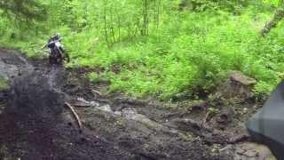 Dirt biking in Postill Mud!