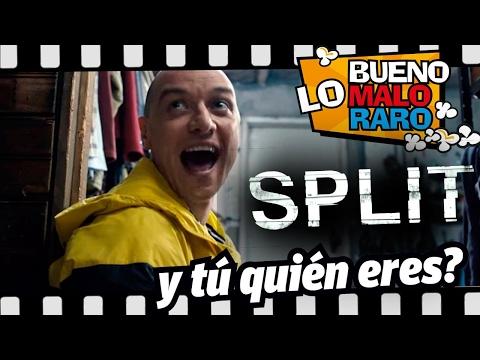 SPLIT: película de personalidad múltiple (bueno, malo y raro)