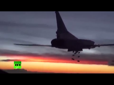 Russian long-range heavy bombers in action over Syria