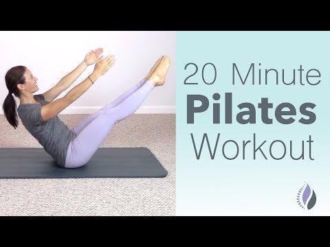 20 Minute Pilates Class