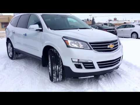 2017 Chevrolet Traverse AWD with Trailering Package, Dual Panel Sunroof, 4G LTE WIFI Hotspot & MORE!