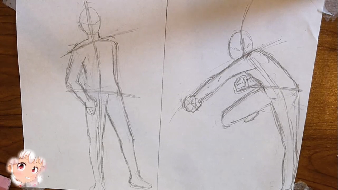 Drawing Essentials Series 6 Dynamic Posing Tutorial Male Youtube