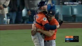 MLB Astros vs Dodgers World Series Game 7 Full Highlights