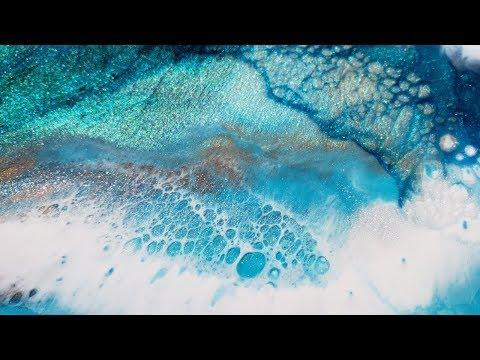 Celltastic beautiful blue resin art using KSRESIN #resinart
