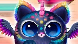 Видео для детей про малышей животных Новый единорог и игрушки в игре Smolsies #4