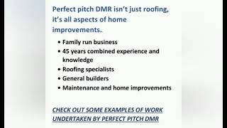 Roofing Specialists And Home Improvements Youtube