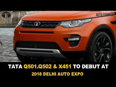 TATA MOTORS TO SHOWCASE Q501, Q502 & X451 AT 2018 DELHI AUTO EXPO