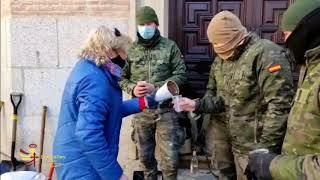 Los #soldados de esta Unidad #EjércitodeTierra van a forjar una relación especial con #Toledo.