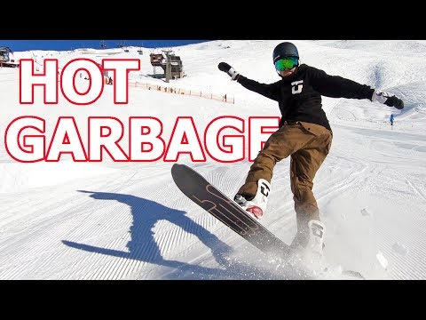 Snowboard Butter Trick Tip - Hot Garbage Tutorial