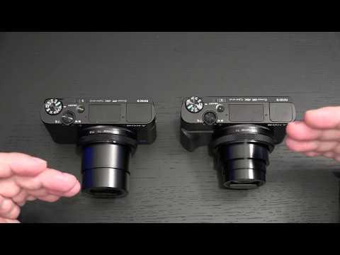 Sony RX100 VI vs RX100 V
