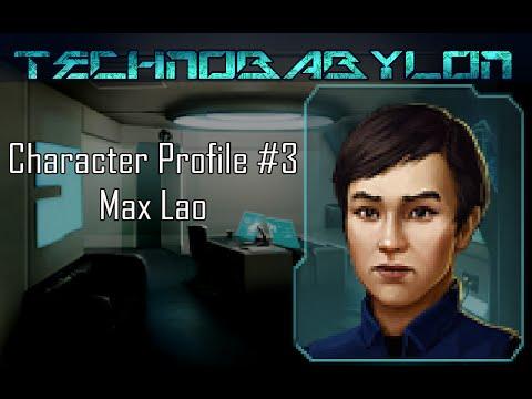Technobabylon character teaser: Max Lao
