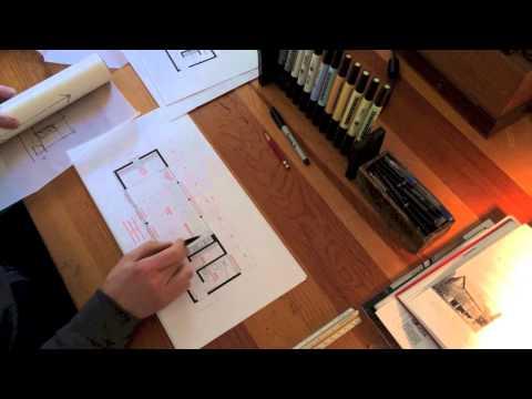 Architect's Design Process : Modern Barn Studio
