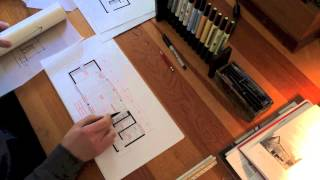 Architect's Design Process : Modern Barn Studio(Download our plans: http://thirtybyforty.com/plan-packages In this video I walk you through the techniques used to generate the floor plan for a modern barn ..., 2014-04-12T01:25:17.000Z)