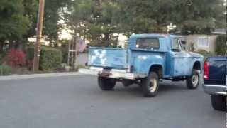 1964 Dodge D100 4x4 Test drive around the block