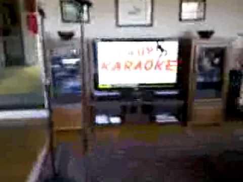 Karaoke Setup in a Small Living Room
