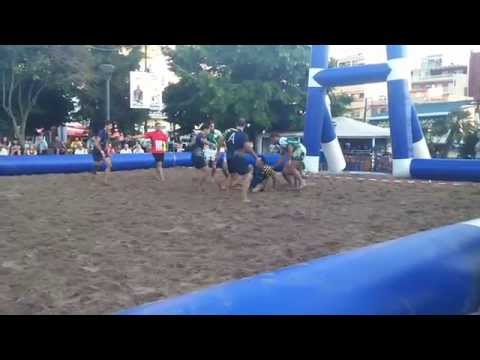Some highlights from Kavala beach rugby