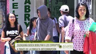 Ciudadanía busca debilitar a los corruptos a través de la Consulta Anticorrupción