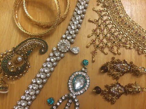 Huge Indian Jewelry Haul & Review | freehandmehndi