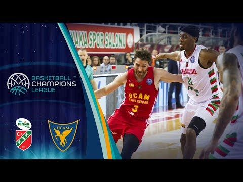 Pinar Karsiyaka v UCAM Murcia - Full Game - Quarter-Final - Basketball Champions League 2017-18