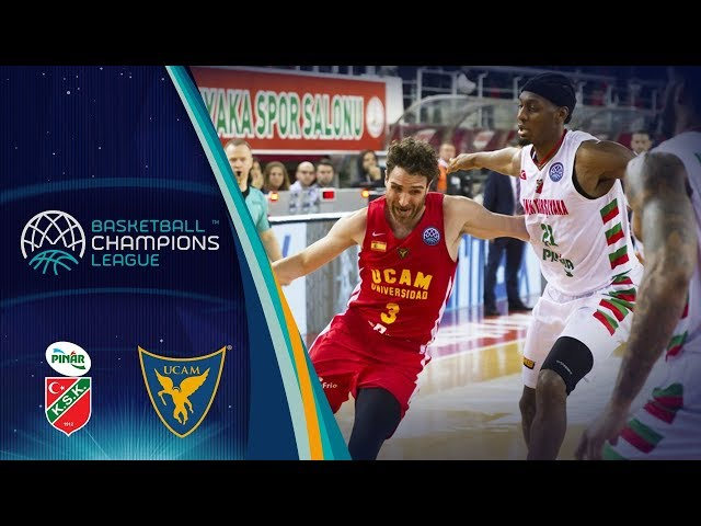 Pinar Karsiyaka v UCAM Murcia - Full Game - Quarter-Final - Basketball Champions League 2017-18