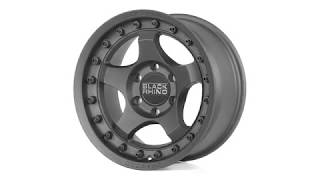 FUEL AUTOTEK Media: Black Rhino Wheels – Bantam in Textured Black