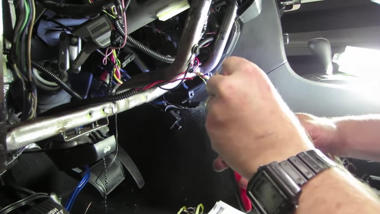 How to install an Evo One remote starter Part 3 - YouTube