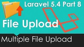 Laravel 5.4 File upload - Upload Multiple files at once #8/9