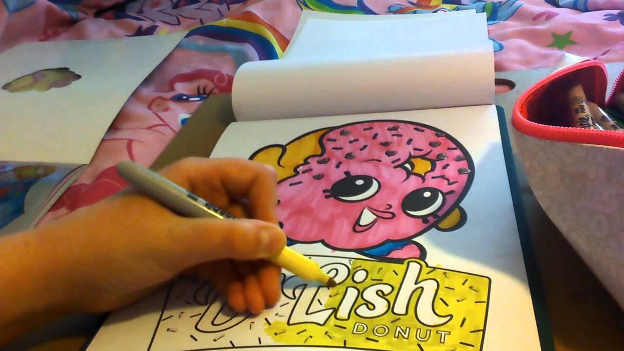Shopkins color dlish donut part 2 super cute